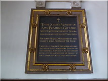 TQ2160 : St Martin of Tours Epsom: memorial (11) by Basher Eyre