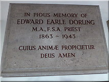 TQ2160 : St Martin of Tours Epsom: memorial (16) by Basher Eyre
