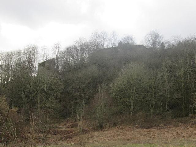 Wigmore Castle Landscape