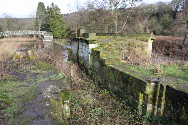 Uttoxeter Canal at Crumpwood Weir