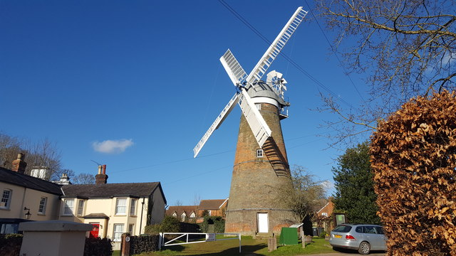 Windmill at Stansted Mountfitchet