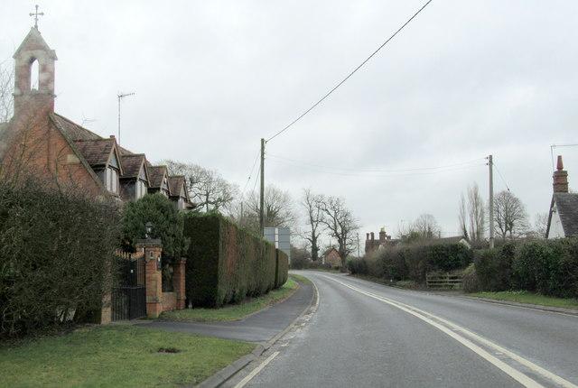 A4189 Near Hampton on the Hill