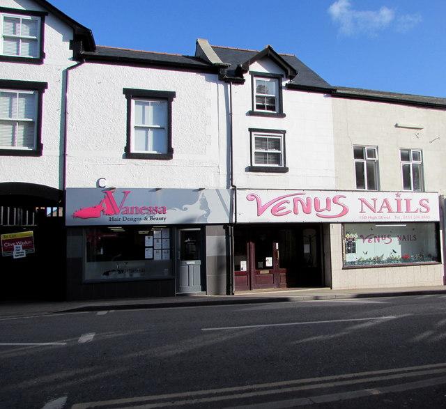 Vanessa and Venus Nails, High Street, Neston