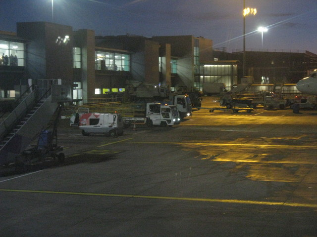 Luton Airport - early evening
