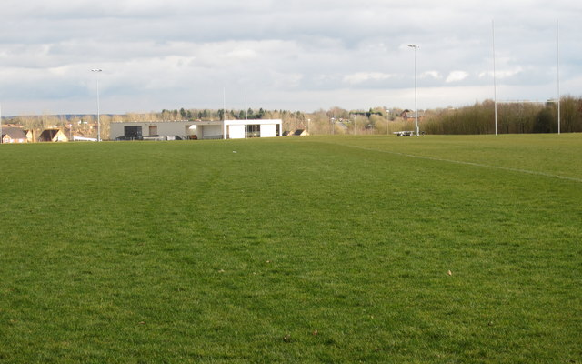 Emerson Valley rugby pavilion