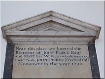 TQ2160 : St Martin of Tours Epsom: memorial (32) by Basher Eyre