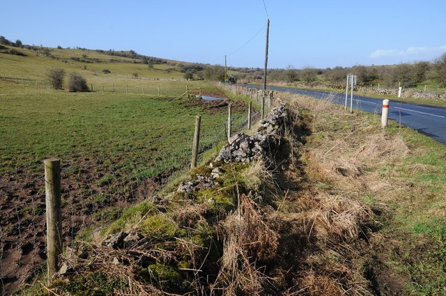 Remains of a drystone wall