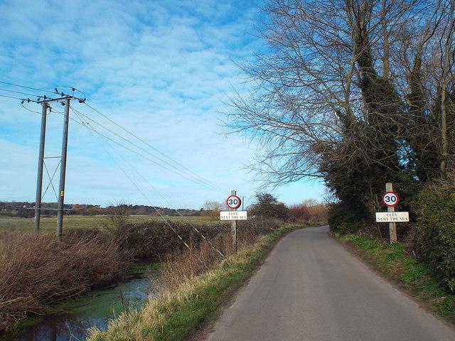 Glandford Road, Cley-next-the-Sea