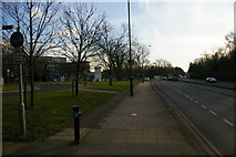 TQ1687 : Watford Road (A404) past Northwick Park Hospital by Christopher Hilton