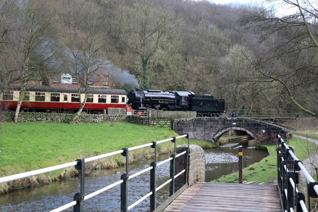 Churnet Valley Railway - Consall Forge