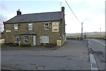NY9084 : The Gun Inn, Ridsdale by Russel Wills