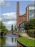 SO8276 : Canal east of Blakebrook in Kidderminster, Worcestershire by Roger  Kidd