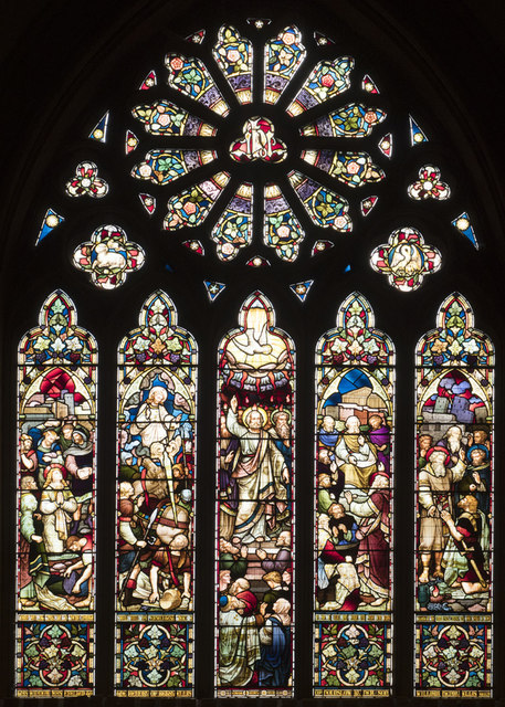 St Paul, Hounslow West - Stained glass window