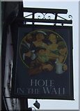 TA0829 : Sign for the Hole in the Wall public house, Hull by JThomas