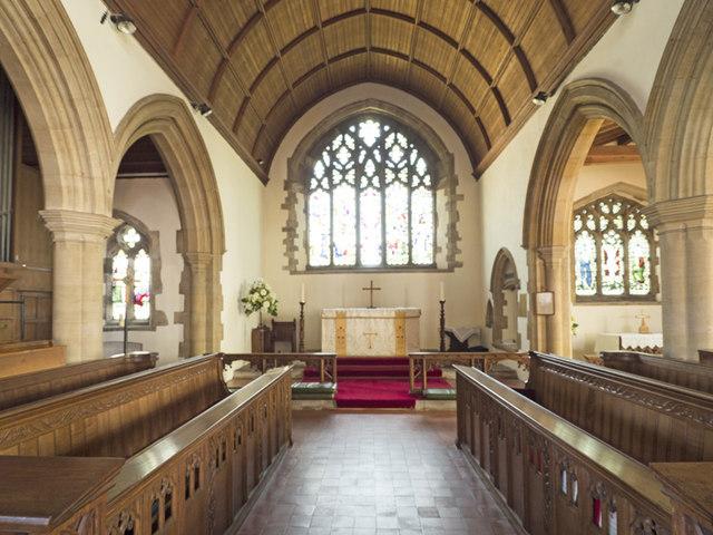 St Peter & St Paul, Chatteris - Chancel