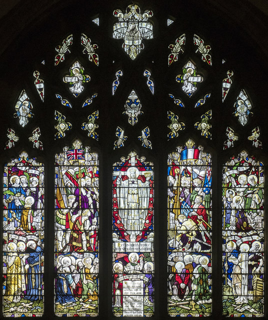 St Peter & St Paul, Chatteris - Stained glass window