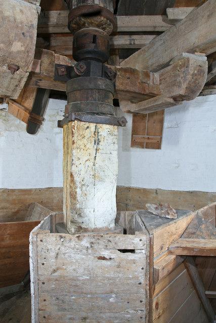 Impington windmill - bin floor