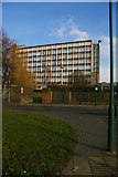 TQ1687 : Harrow Campus, University of Westminster, from the Watford Road by Christopher Hilton