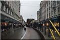 SJ8498 : Market Street Tram Stop by N Chadwick