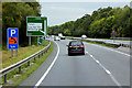 SH9876 : North Wales Expressway at Junction 24A by David Dixon