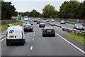 SH9578 : North Wales Expressway near Abergele by David Dixon