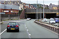 SH8579 : North Wales Expressway at Colwyn Bay by David Dixon