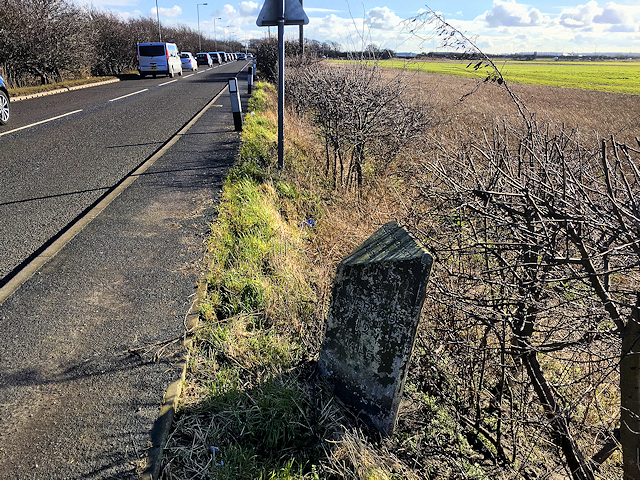 Little Altcar, Milestone on Liverpool Road