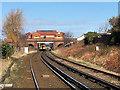SD2906 : Formby Railway Station by David Dixon