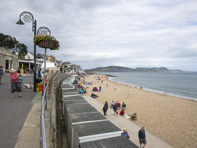 Seafront at Lyme Regis