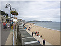 SY3391 : Seafront at Lyme Regis by Rossographer