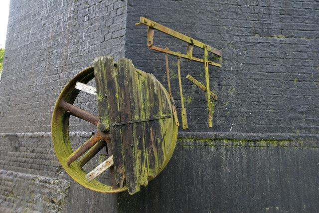 Impington windmill - external drive
