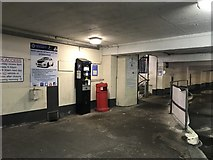 SJ8445 : Entrance to the Midway Car Park, Newcastle-under-Lyme by Jonathan Hutchins