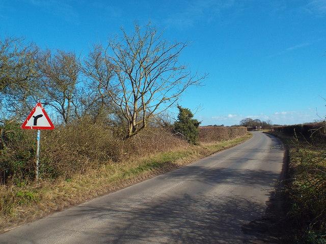 Holt Road, near Cley-next-the-Sea