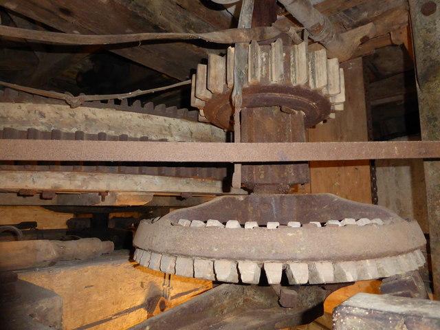 Northfield Windmill - Soham - gearing