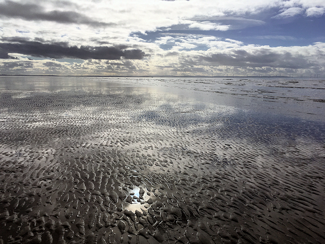 Formby Beach at Low Tide