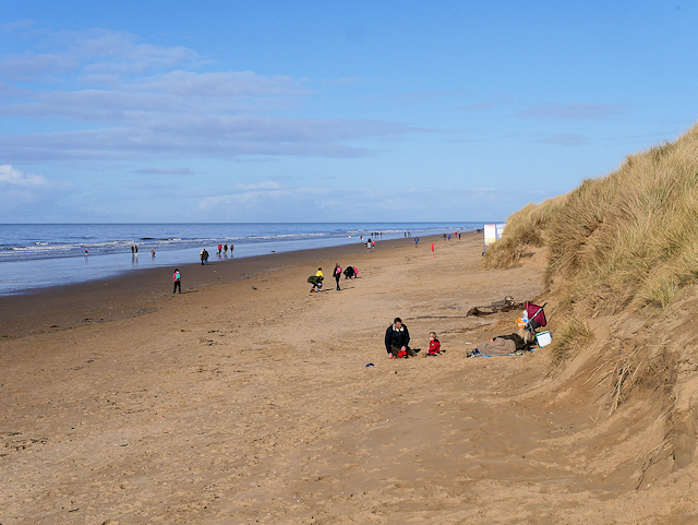 Lifeboat Road Beach, Formby Point