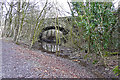 NY3860 : Bridge over dismantled Waverley railway line by Rose and Trev Clough