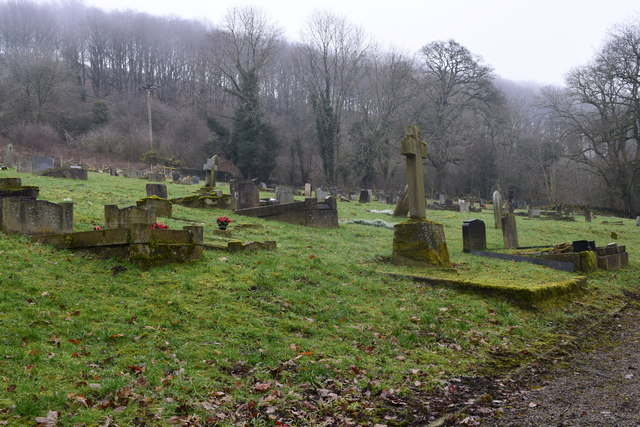 Cemetery at Stoney Middleton