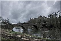 SO5074 : Dinham Bridge, Ludlow by Brian Deegan