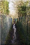 TQ1587 : Footpath 60 dropping downhill, Harrow by Christopher Hilton