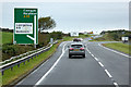 SH3278 : North Wales Expressway, Westbound Exit at Junction 4 by David Dixon