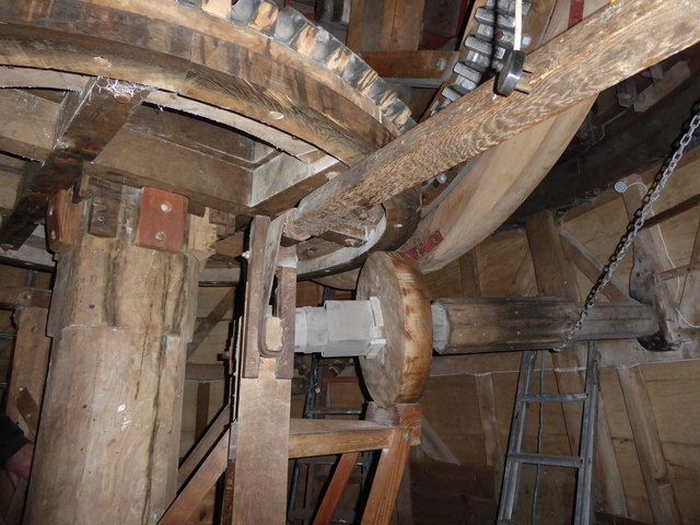Wicken Windmill - sack hoist