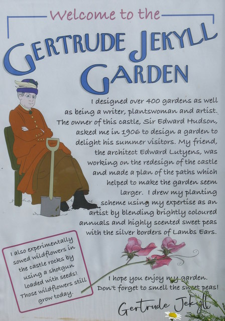 Gertrude Jekyll Garden, Holy Island