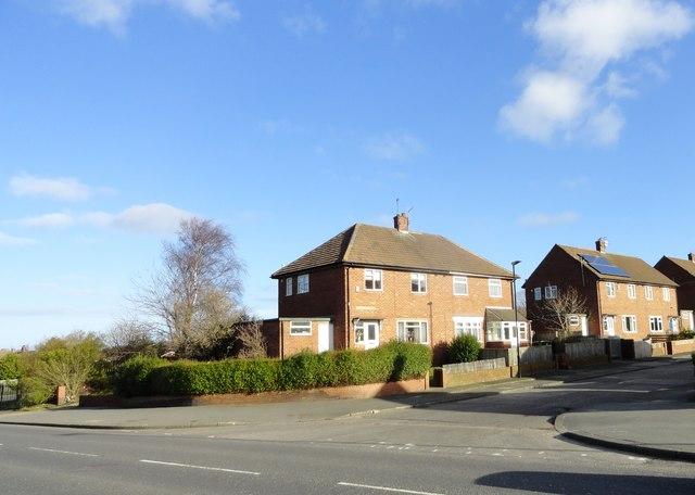 Suburban estate at South Hylton