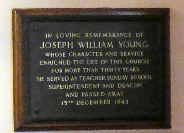 A tribute to Joseph William Young