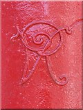 NZ2464 : Victorian postbox, Percy Street, NE1 - royal cipher by Mike Quinn