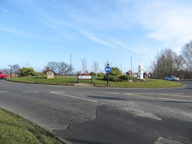 Roundabout, Marden Bridge, Whitley Bay