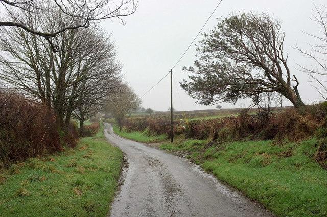 Lane to Tregue