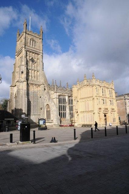 The Church of St John the Baptist, Cirencester