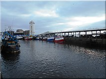 NZ3668 : North Shields Fish Quay Harbour by Bill Henderson